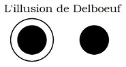 Illusion de Delboeuf